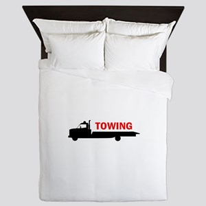 FLATBED TOWING Queen Duvet