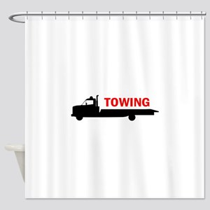 FLATBED TOWING Shower Curtain