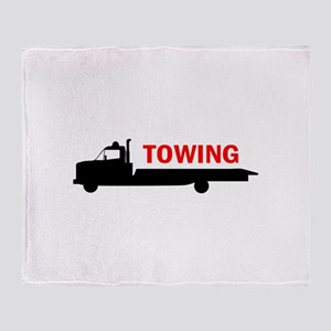 FLATBED TOWING Throw Blanket