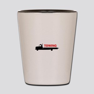 FLATBED TOWING Shot Glass