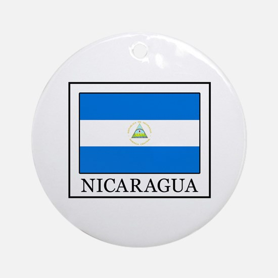 Nicaragua Ornament (Round)