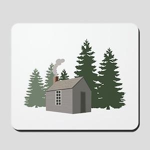 Thoreaus Cabin Mousepad