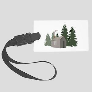 Thoreaus Cabin Luggage Tag