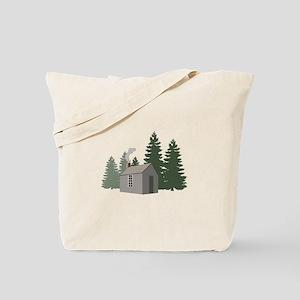 Thoreaus Cabin Tote Bag