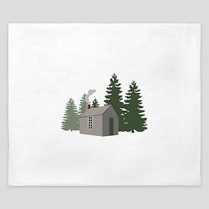 Thoreaus Cabin King Duvet