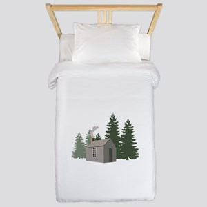 Thoreaus Cabin Twin Duvet