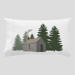 Thoreaus Cabin Pillow Case
