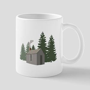 Thoreaus Cabin Mugs