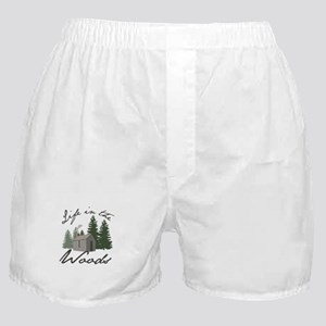 Life in the Woods Boxer Shorts