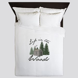 Life in the Woods Queen Duvet
