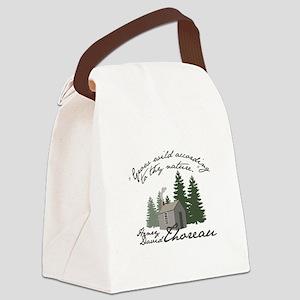 Grow Wild Canvas Lunch Bag