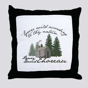 Grow Wild Throw Pillow