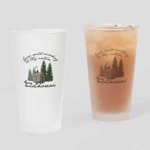 Grow Wild Drinking Glass