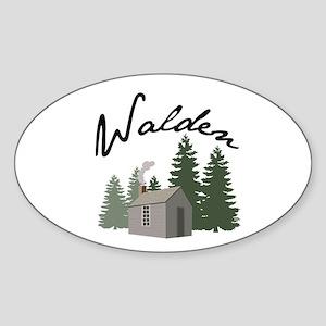 Walden Sticker