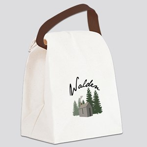 Walden Canvas Lunch Bag
