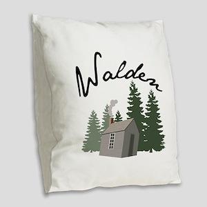 Walden Burlap Throw Pillow