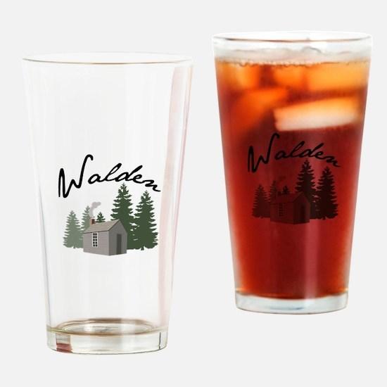 Walden Drinking Glass