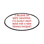 tennis joke Patch
