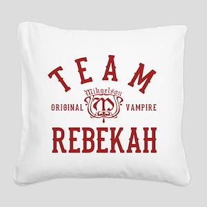 Team Rebekah Vampire Diaries Originals Square Canv