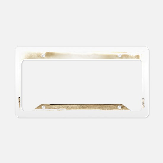 Cute 50s License Plate Holder