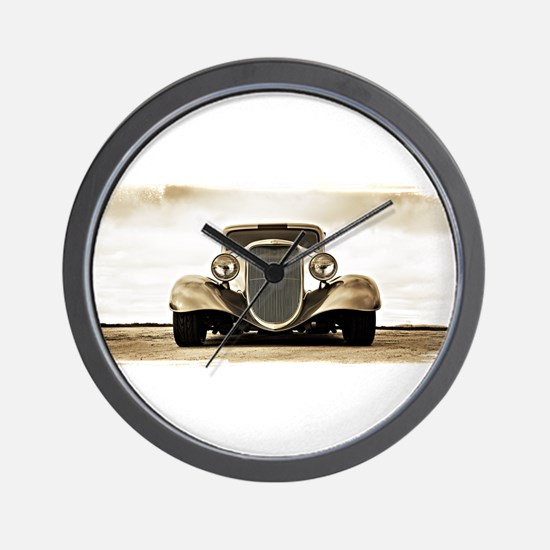 11933 Ford Coupe Wall Clock