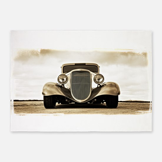 11933 Ford Coupe 5'x7'Area Rug