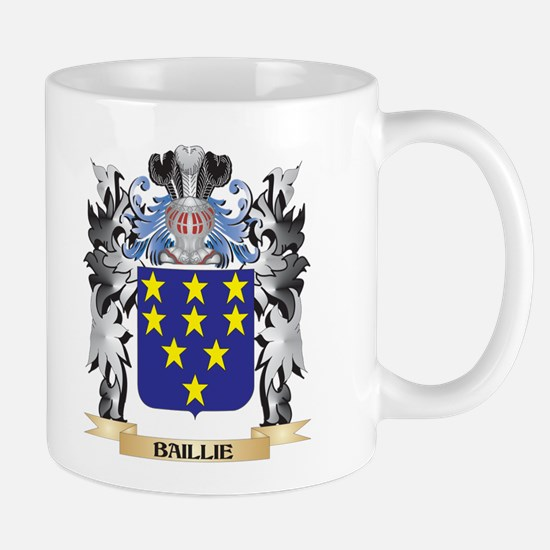 Baillie Coat of Arms - Family Crest Mugs