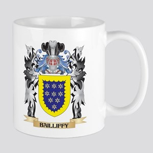 Bailliffy Coat of Arms - Family Crest Mugs