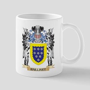 Baillivet Coat of Arms - Family Crest Mugs