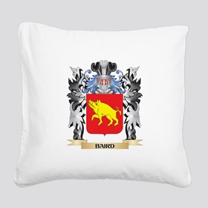 Baird Coat of Arms - Family C Square Canvas Pillow