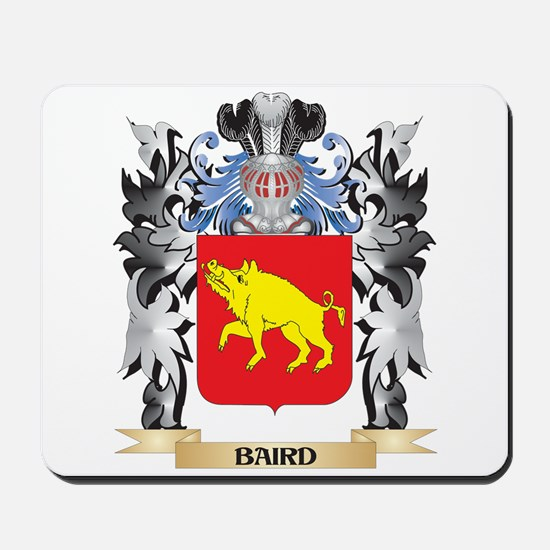 Baird Coat of Arms - Family Crest Mousepad