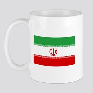 Iranian Flag Mug