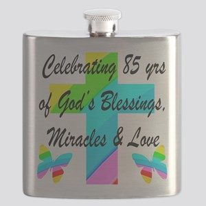 85 YR OLD BLESSING Flask