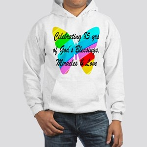 85 YR OLD BLESSING Hooded Sweatshirt