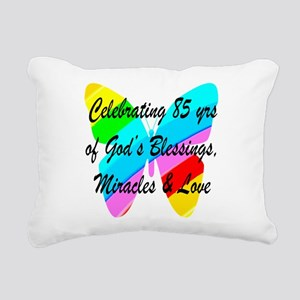 85 YR OLD BLESSING Rectangular Canvas Pillow