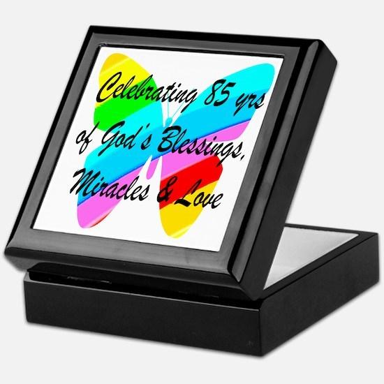 85 YR OLD BLESSING Keepsake Box