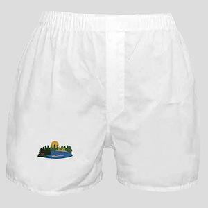 Lake House Boxer Shorts