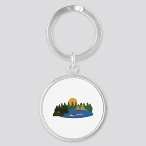 Lake House Keychains