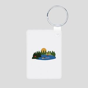 Lake House Keychains