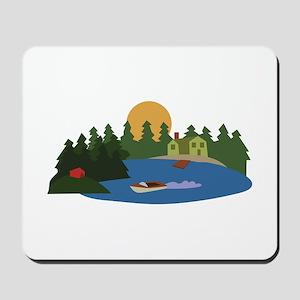 Lake House Mousepad