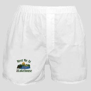 At Lake House Boxer Shorts