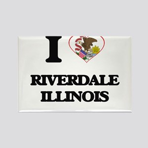 I love Riverdale Illinois Magnets