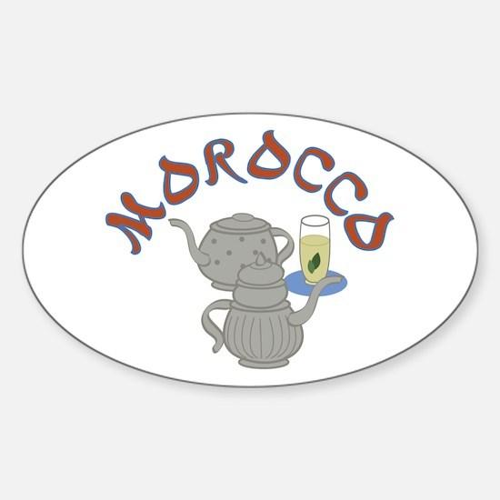 Morocco Tea Decal