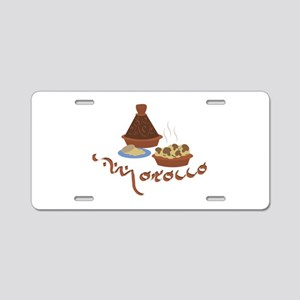 Tagine Morocco Aluminum License Plate
