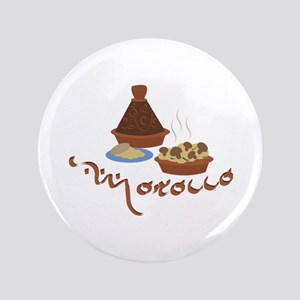 Tagine Morocco Button