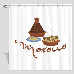 Tagine Morocco Shower Curtain