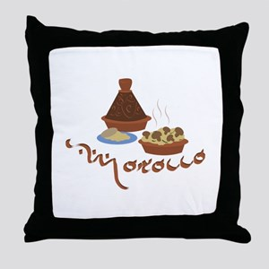 Tagine Morocco Throw Pillow
