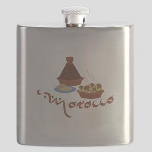Tagine Morocco Flask
