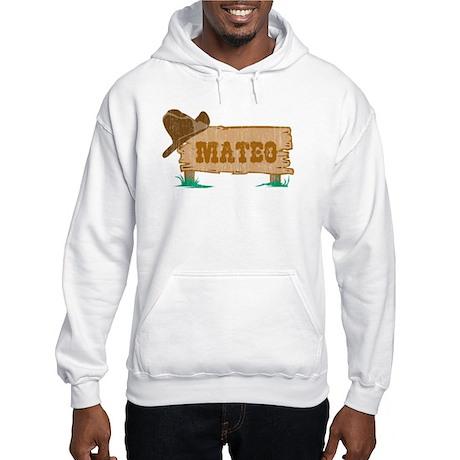 Mateo western Hooded Sweatshirt