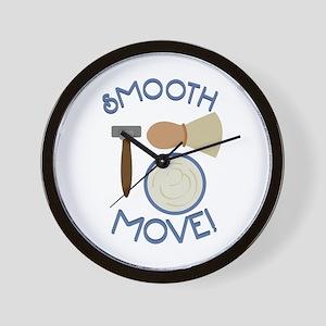Smooth Move! Wall Clock